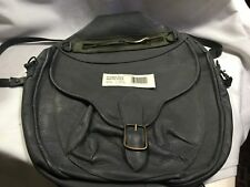 VINTAGE CROSSOVER MR CHRISTIAN BAG ALL LEATHER GREY ABSOLUTELY FABULOUS RARE