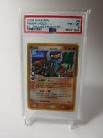 Pokemon PSA 8 Pinsir 2006 EX Dragon Frontiers Holo Rare Card 9/101 Pop 3!