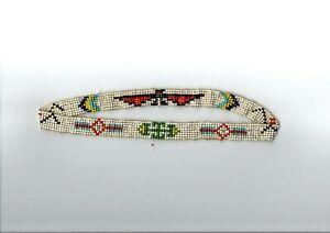 Indianerschmuck Stirnband Indianer Perlen 7 Reihig