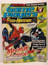 Game Players Magazine Nintendo Sega August 1994 Maximum Carnage Venom