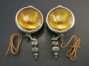 NEW OLD STOCK 1940's - 1950 's Accessory Electroline Fog Lights