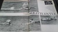 Revista Brigitte Bardot París Match N º 695 Agosto 1962 Buen Estado