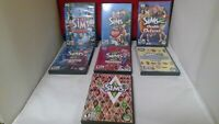 Variety Pack of 7 The Sims 1, 2 and 3 Games