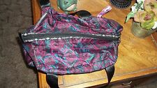 Babyphat Baby Phat Over Night Bag Black,Blue and Pink