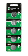 20 x CardioCell CR 2025 3V Lithium Batterie Knopfzelle 150mAh - 4 x 5er Streifen