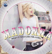 Madonna-What It Feels Like For A Girl cd single