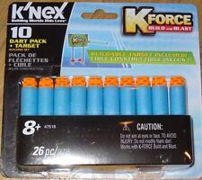 K Force 10 Dart Pack + Target Building Set K'NEX Construction Toy KNEX 47518