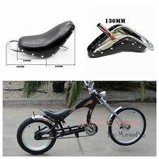 Bicycle Seat for Custom Chopper Lowrider Beach Cruiser Stingray Type Push Bike