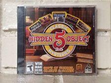 classic hidden object mysteries --- 5 computer games --- new