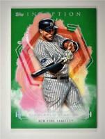 2019 Inception Base Green #42 Giancarlo Stanton - New York Yankees