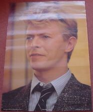 David Bowie UK Personality Poster Anabas 1983