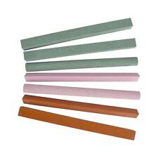 Assorted Sharpening Stone Set 180 & 240 Grit Various Shapes Slipstones TE267