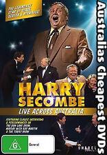 Harry Secombe Live Across Australia DVD NEW, FREE POST WITHIN AUSTRALIA REG ALL