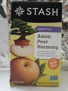 Stash Tea Asian Pear Harmony Green Tea, 20 Count Tea Bags