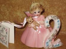 Vintage Josef Girls Original Birthday Girl Figure Second Year Figurine Collector