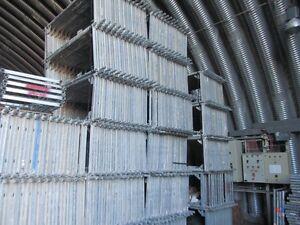 Gebrauchtes Layher Gerüst sinnvolle 105m² Baugerüst Layhergerüst