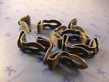 10 agrafes métalliques de panneau de porte pour Peugeot 203 403 204 304 404 504