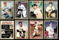 Set of 8 MVPs of '53 Berra Hodges Kaline Mathews Lopat Haddix Thomas Rosen  🔥