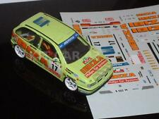 DECAL CALCA 1/43 SEAT IBIZA Gr.A E. WEBER RALLY PORTUGAL 1995