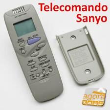 TELECOMANDO SANYO AIR RCS-6HPN4E-G ARIA CONDIZIONATA CLIMA MULTIFUNZIONE SET MOD
