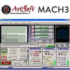 Engraving Control CNC Software Artsoft Mach 3 ⭐ Lifetime Licence ⭐