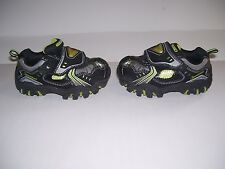 BOYS Sketchers BLACK LUMINATORS LIGHT UP Infant / Toddler Boys Shoes Size 6