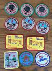 Vintage Boy Scout Patches 1986 and  1987 Assorted Lot Of 11 Patches