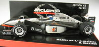 MINICHAMPS - F1 McLAREN Mercedes MP 4-13 - Hakkinen - WORLD CHAMPION 1998 - 1:43