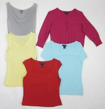 Lot of 5 Ann Taylor & Ann Taylor Loft Business Casual Tops 4 Small and 1 Medium