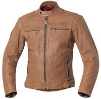 Reduit Held Fort Balle Hommes Blouson Moto Veste en Cuir Vintage, Rétro Bobber