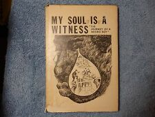 1966 Montague My Soul is a Witness The Journey of a Negro Boy Realm 1st Edition