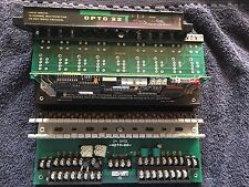 OPTO22 G4 base with cover and card G4LA local analog Used
