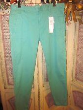 Calvin Klein Jeans green with slight stretch   Size 10  NWT $59.50