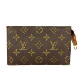Louis Vuitton Monogram Cosmetics Pouch (Bucket PM) Purse /91667