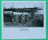 UM10) Artillerie Wytschaete Wytschaetebogen Geschütz Soldaten 1914-1918 1.WK WWI