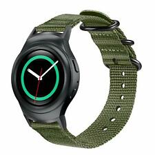 For Samsung Gear S2 SM-R720/R730 Band Soft Woven Nylon Sport Strap with Adapters