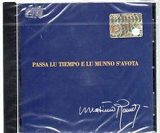 MASSIMO RANIERI CD PASSA LU TIEMPO E LU MUNNO S'AVOTA  2009 nuovo SIGILLATO