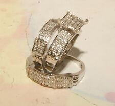 Man's And ladies Diamond and White Gold Wedding Bands & Engagement Rings Jewelry