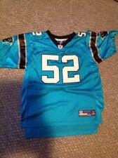 Jon Beason Panthers #52 Reebok NFL Equipment Youth XL Jersey