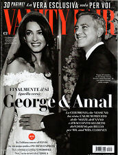 VANITY FAIR=N°39 2014=CLOONEY&AMAL SPOSI=L'ULTIMA DONNA DI ELVIS PRESLEY