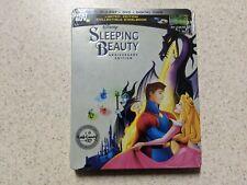 Sleeping Beauty SteelBook Blu-Ray + DVD + Digital Code FACTORY SEALED