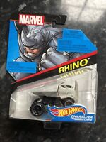 MARVEL AVENGERS COLLECTOR HOT WHEELS RHINO CHARACTER CARS