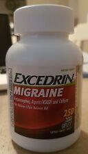 Excedrin Migraine Acetaminophen Aspirin NSAID Caffeine Pain Reliever Aid 250 Cap