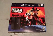 Red Dead Redemption 2 PlayStation 4 (PS4) Pro Console Bundle 1TB NEW