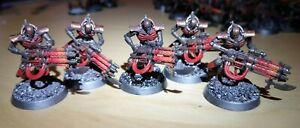 40k Necron Immortals Squad x5 (32mm Bases)