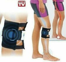 NEW ADJUSTABLE ACUPRESSURE KNEE/LEG BRACE/WRAP RELIEVE BACK PAIN SCIATICA RELIEF