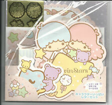 Sanrio Little Twin Stars Stationery Letter Set With Gold Seals