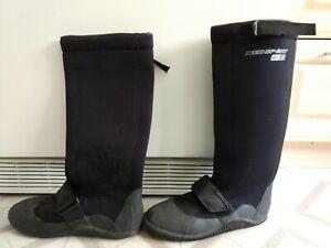 Neosport 5mm Neoprene Explorer Knee-High Waterproof Boot, Size 10 Men's