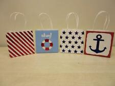 """36 - 5""""x5""""x3.5"""" Nautical Gift Bags for Wedding Reception Parties Favors Beach"""
