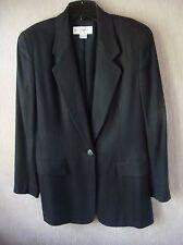 Women's Liz Claiborne Black Jacket Size 6